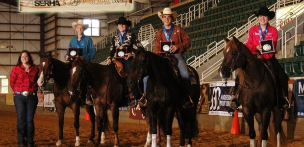 Chapman Reining Horses would like to congratulate Becky McCabe and Whizzen Footwork, who were on the winning youth team at the Southeast Regional Affiliate Finals. Congratulationsto the entire team!