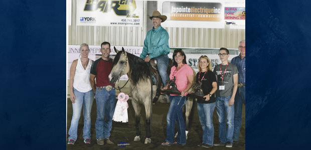 Congratulations to Craig Stonesifer and Diamond B Gun for winning both days of the Novice Horse Non Pro Level II at the Ruben Rose Pink Ribbon Reining in Sorel, Tracy […]
