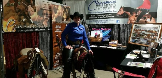 Come visit Commandalena and Chapman Reining Horses at the 2015 Horse World Expo in Timonium, Maryland! We are in Booth S1 (Stallion Avenue) near the Education Corral. Photo by Dana […]