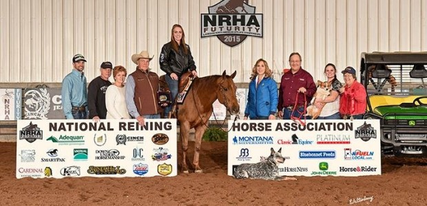 Congratulations to Brooke Myers on Ready Spook, NRHA NAAC Reserve Champion Youth 14-18 at the 2015 NRHA Futurity in Oklahoma City, Oklahoma!