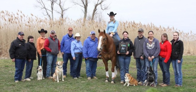 Chapman Reining Horses would like to congratulateCallihan Dice, riding KR Hickory Hurricane, for winning Green Reiner I & II at the EPRHA No Foolin Slide Show.