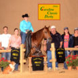 Chapman Reining Horses would like to congratulateMegan Snyder, who was Champion-Level 1 at the Carolina Classic Non-Pro Derby on Lil Miss Red Pine.