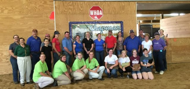 Chapman Reining Horses was pleased to host the Maryland 4-H Horse Judging and Hippology Teams today, as they prepare to compete atthe All-American Quarter Horse Congress in Columbus, Ohio, and […]