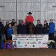 Megan Snyder riding Little Miss Red Pine was Reserve Champion at the NRHA Northeast Affiliate Regional Championship in the Limited and Intermediate Non-Pro!