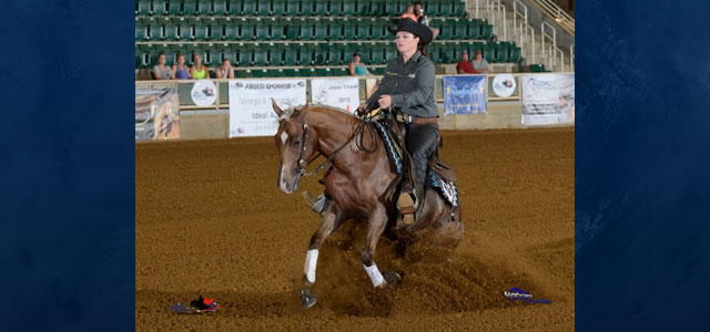 Chapman Reining Horses would like to congratulate Joan Meredith of Greenwood Lake, NY on her purchase of CZ Nifty Whiz, 4 yr old Palomino Mare. Thanks to Jeff Koenig, Agent.