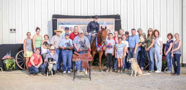 Amanda Yarbrough, riding Spooky Lil Shooter, won the Santa Hill Ranch Level 1 & 2 Open Futurity at the Firecracker Classic held at the Gloucester County Dream Park, NJ.