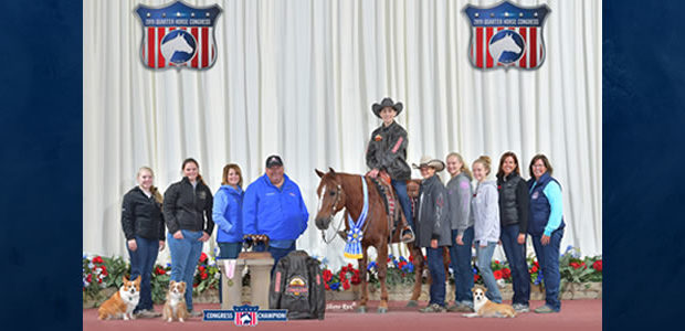 Congratulations to Johnny Richards showing Chic with Chex, the 2019 All-American Quarter Horse Congress Rookie Level 2 Champions!!!!