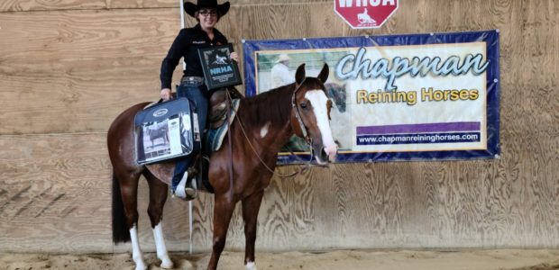 Champion Rookie Professional Day 2 at the Mid-Atlantic Reining Classic! She's Sompen Online, Shown by Taylor Davis, owned by Dr. Megan Snyder. Related posts: Rookie Professional Champion! 2016 NRHA Reserve […]