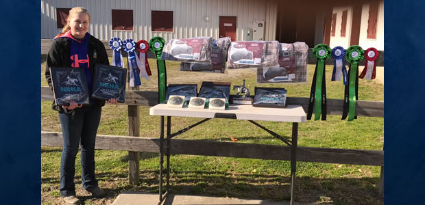Congratulations to Maria Richards who won the Green Youth, High Point Green Youth, Green Reiner 1, Youth 13 & under, Rookie Youth, High Point Youth 13 & Under, High Point Rookie Youth, and High Point Green […]