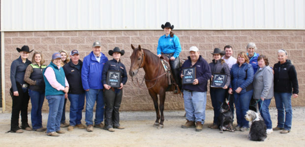 Chapman's Champions strike again! Allison Reigle riding her horse Cayenne Whiz won the Rookie 1, Rookie 2 and Prime Time Rookie both days in a row at the EPRHA Fall […]