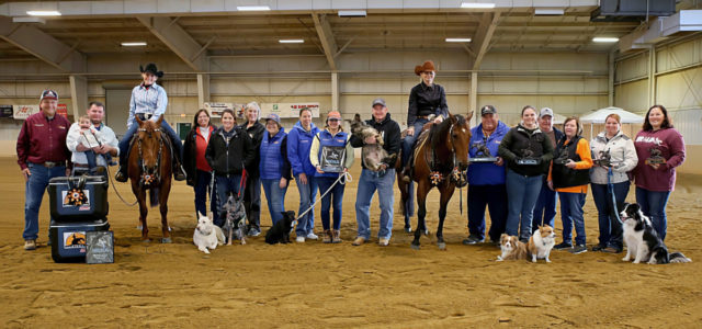 Chapman Non Pros make a clean sweep of the EPRHA Fall Spooktacular! Tracey Showman riding A Chic Surprize was Champion in the 7-UP Non Pro Derby and Kim Wolfe riding RC Fancy Chic was Reserve Champion in Levels 4 and […]
