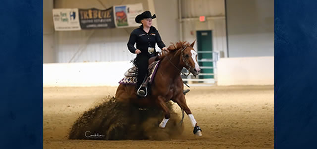 Chapman Reining Horses and Rising Star Farm welcome Blacie Bakutis to the training staff. Looking forward to great success!!